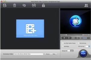 MacX Mobile Video Converter Screenshot