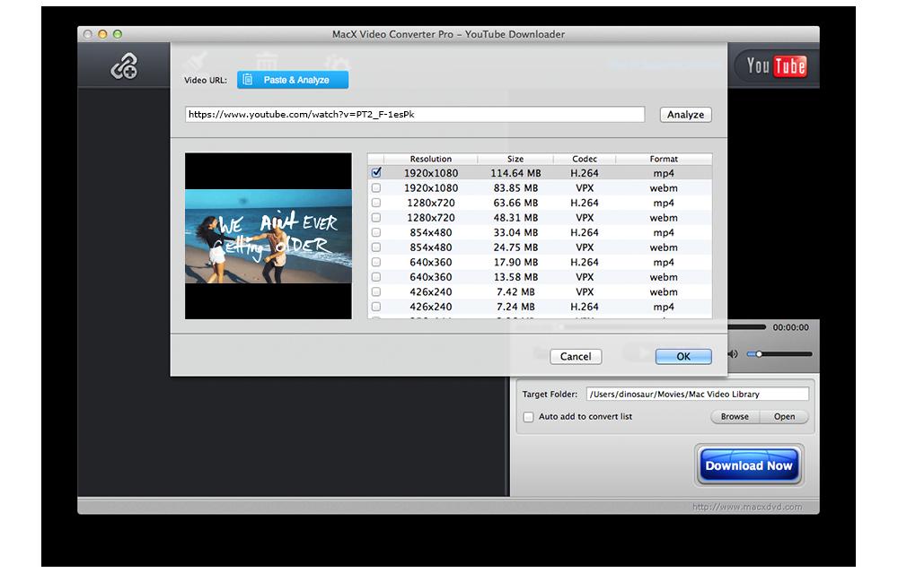 MacX Video Converter Pro, Video Converter Software Screenshot