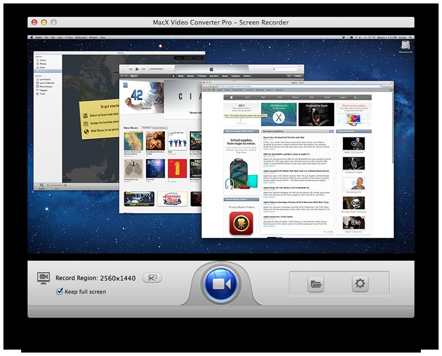 MacX Video Converter Pro, Video Software Screenshot