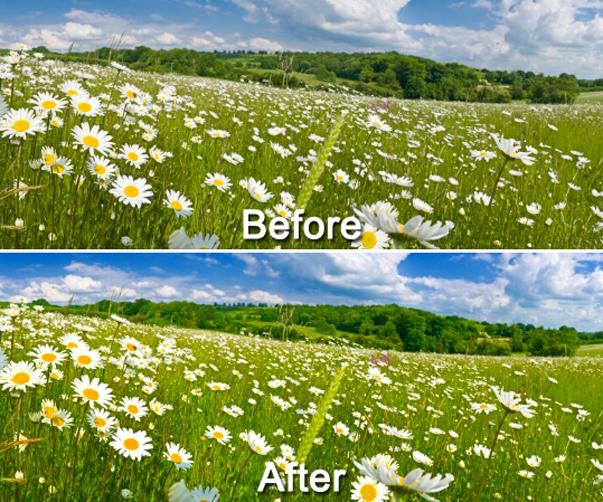 Magic Landscape Filter, Photo Editing Software Screenshot