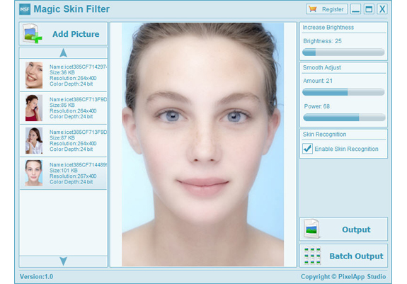 Magic Skin Filter Screenshot