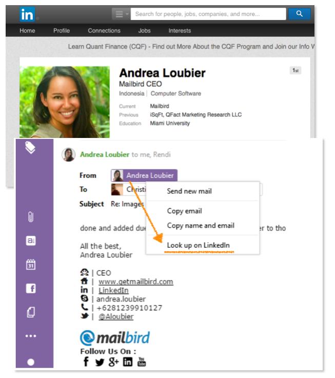 Mailbird, Internet Software, Email Client Software Screenshot