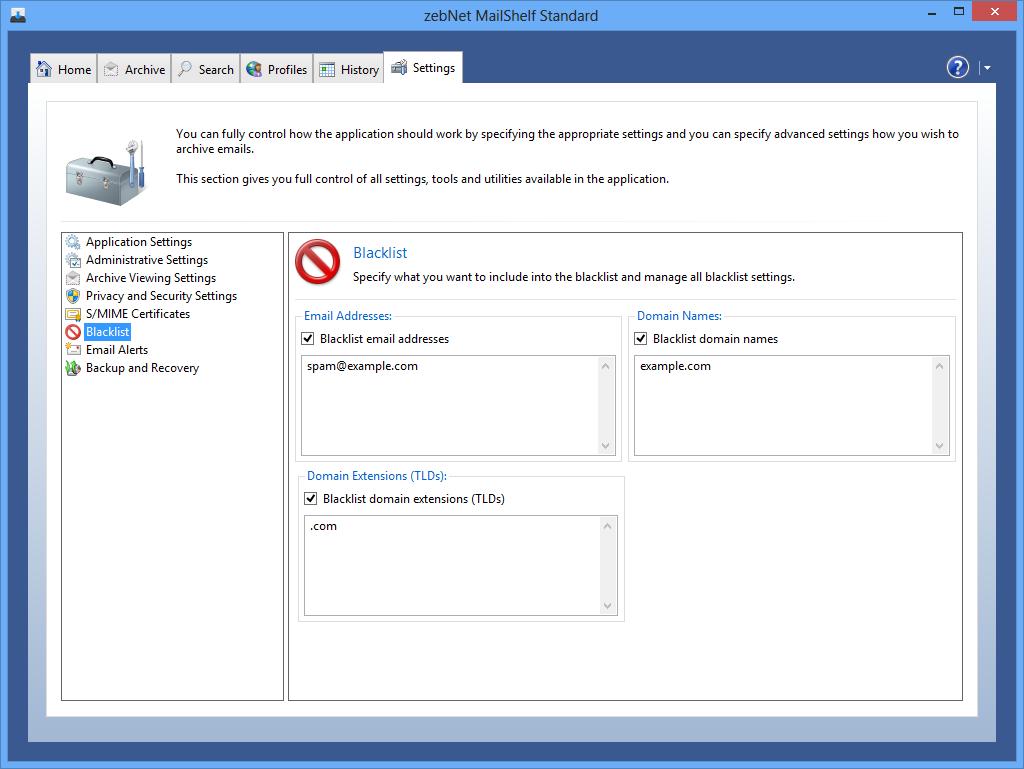 MailShelf Standard Screenshot 10