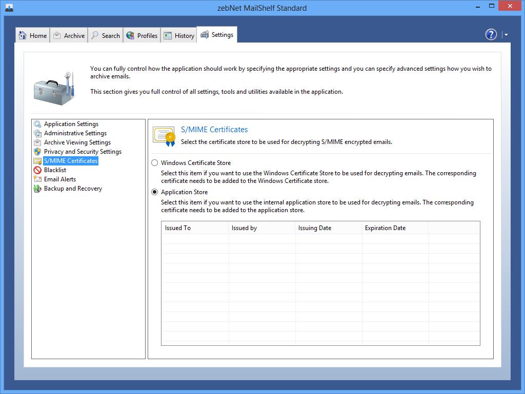 MailShelf Standard Screenshot 9
