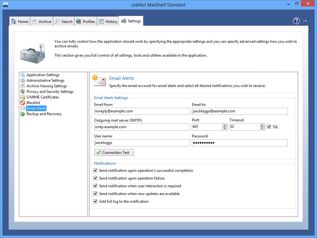 MailShelf Standard Screenshot 11