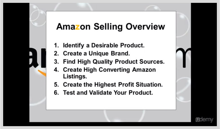 Learning and Courses Software, Make an Extra $1K - $10K a Month Selling On Amazon Screenshot