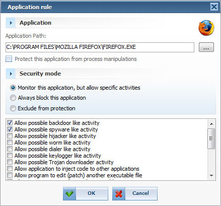 Security Software, Mamutu Screenshot