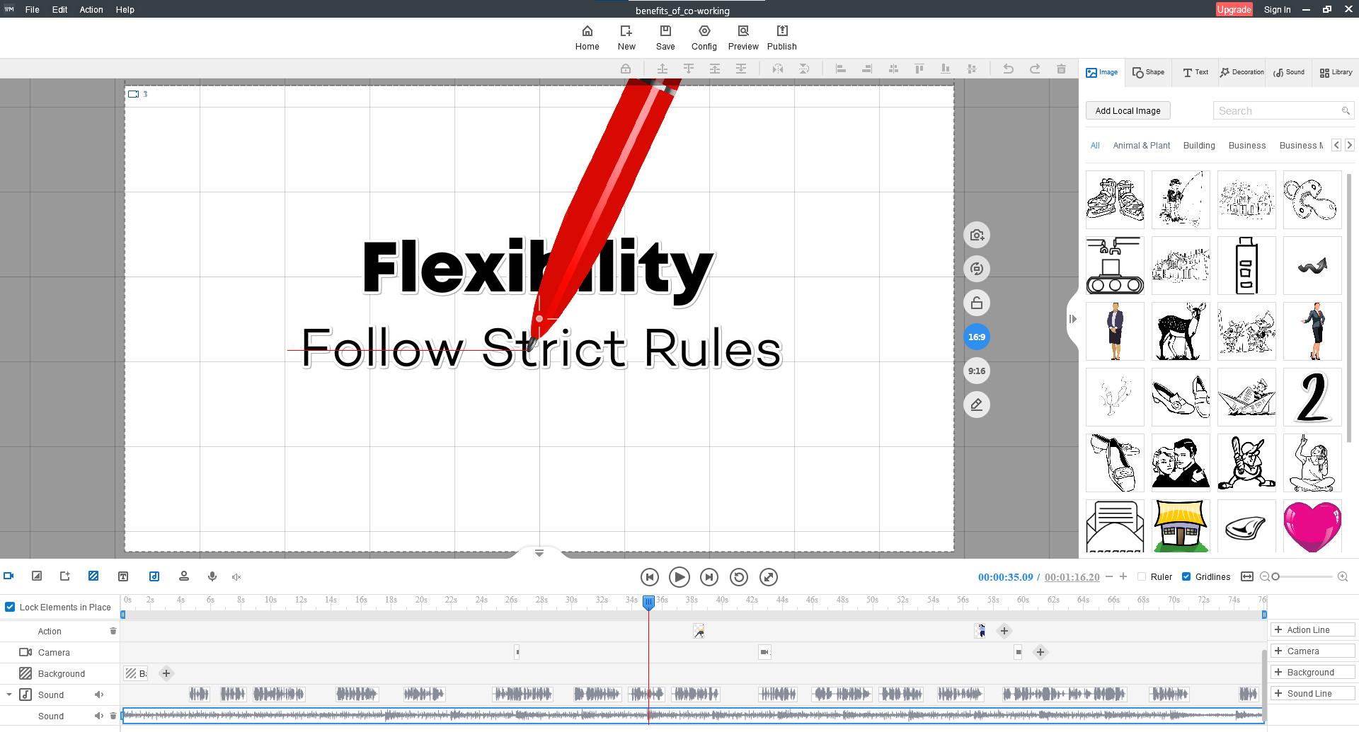 Design, Photo & Graphics Software, Mango Animate Whiteboard Animation Maker Lifetime Screenshot