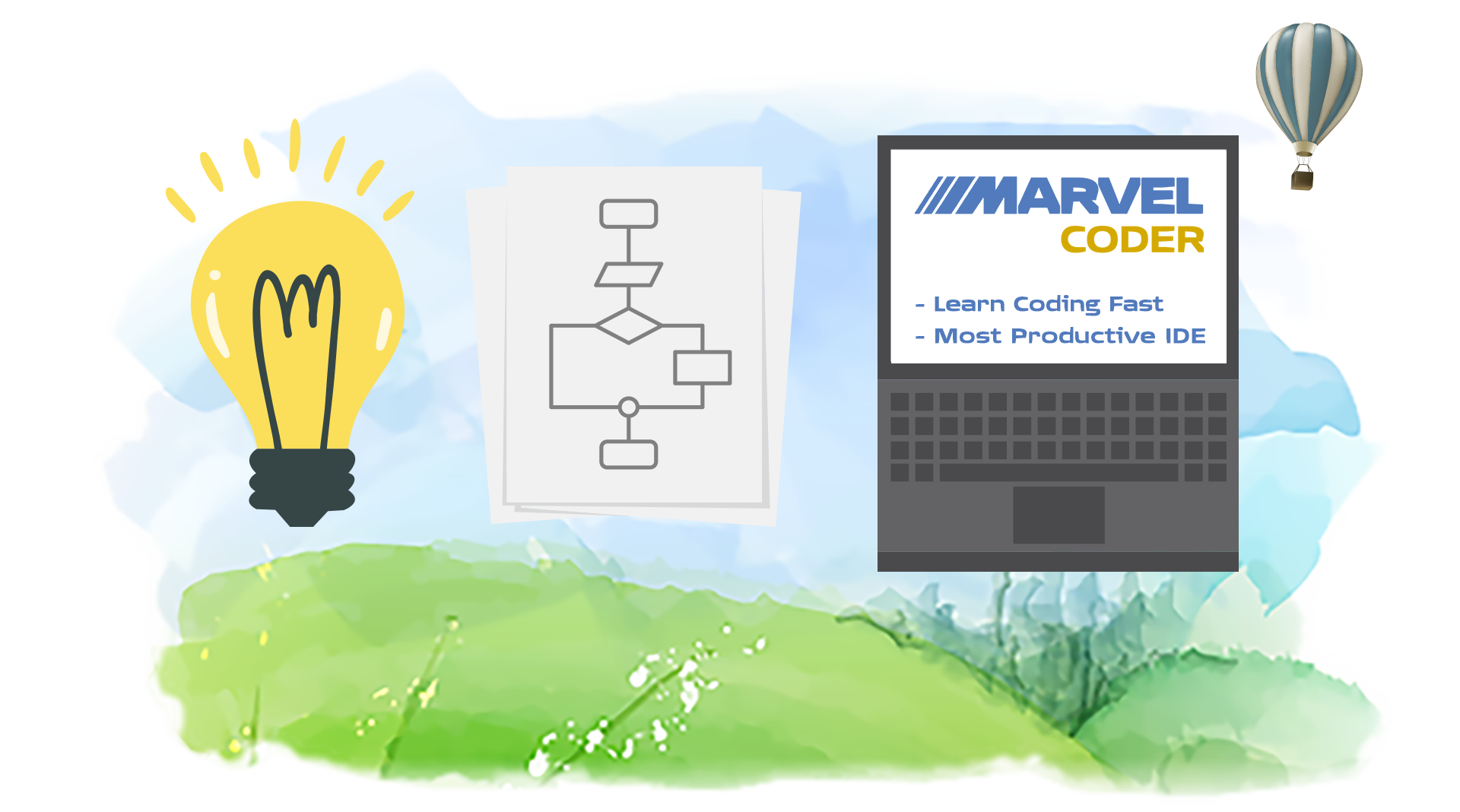 MarvelCoder — Learn Coding Fast Screenshot