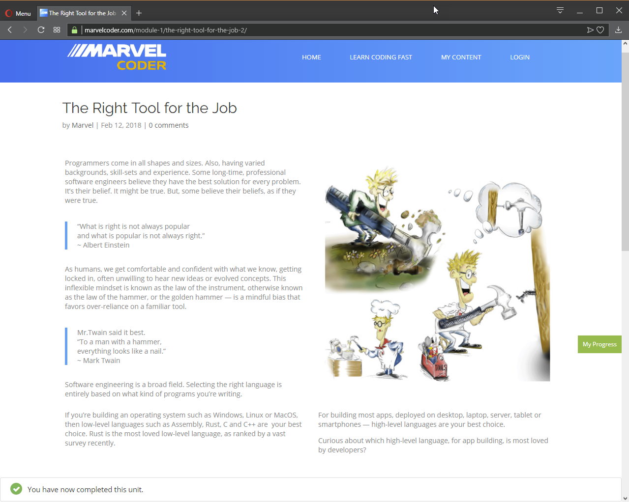 MarvelCoder — Learn Coding Fast, Web Development Software Screenshot