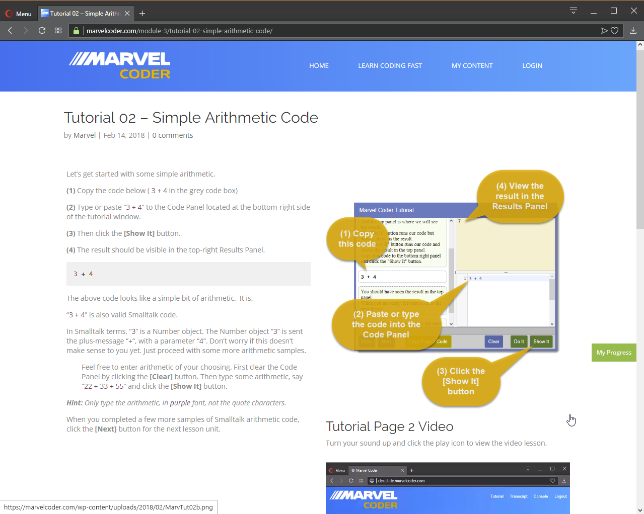 MarvelCoder — Learn Coding Fast, Development Software Screenshot