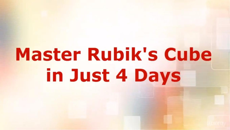 Master Rubik