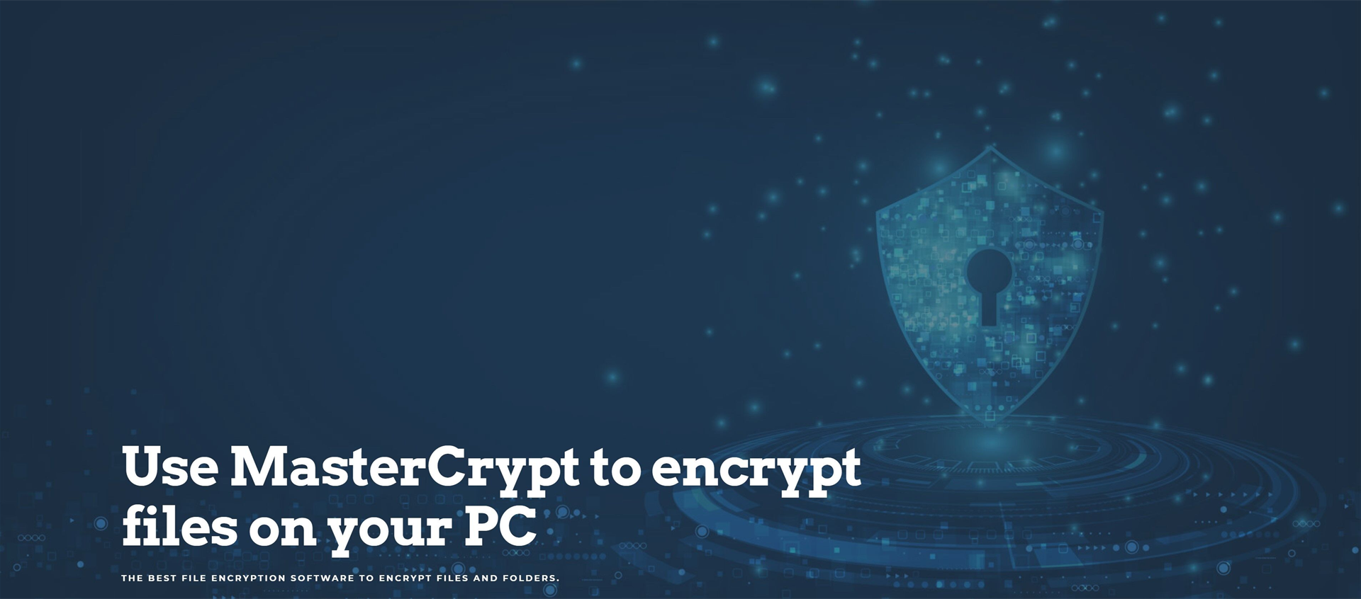 MasterCrypt Screenshot