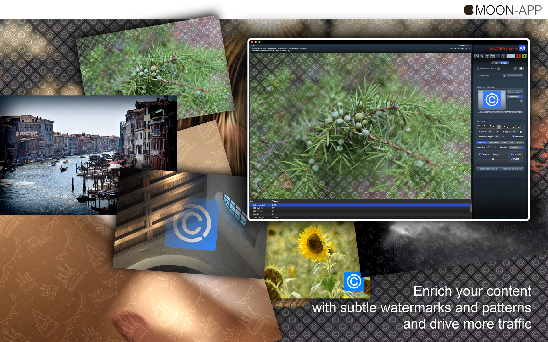 maWatermarker Screenshot