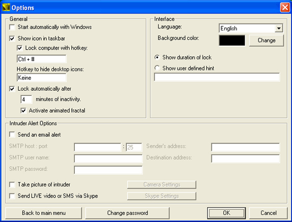 Encryption Software, MAXA Security Tools Screenshot
