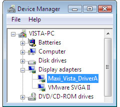 MaxiVista Pro, Desktop Customization Software Screenshot