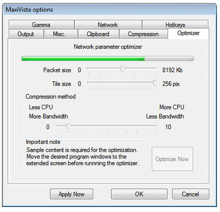 Desktop Space Software Screenshot
