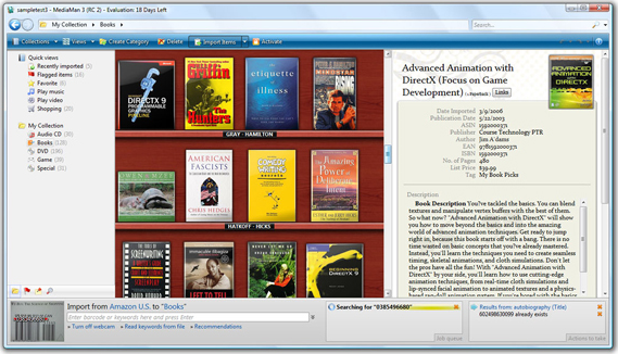 MediaMan, Hobby, Educational & Fun Software Screenshot
