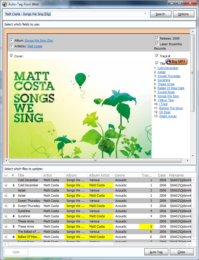 Audio Software, Audio Player Software Screenshot