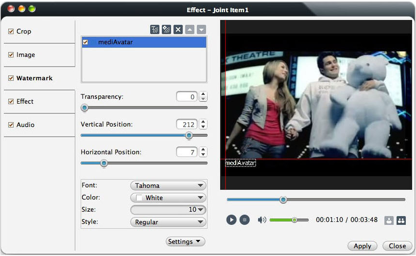 mediAvatar Video Converter Pro Screenshot 8