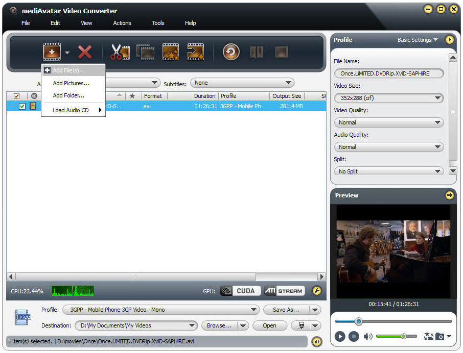 mediAvatar Video Converter Pro Screenshot 13