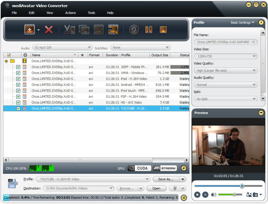 mediAvatar Video Converter Pro Screenshot 19