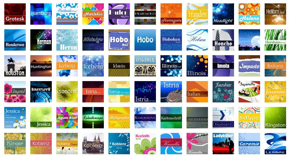Fonts and Font Tools Software, MegaFont NEXT Screenshot
