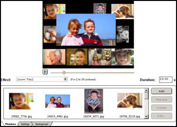 MemoriesOnTV, Slideshow Software Screenshot