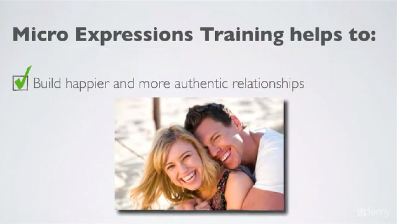 Micro Expressions Training & Body Language for Lie Detection, Hobby, Educational & Fun Software, Learning and Courses Software Screenshot