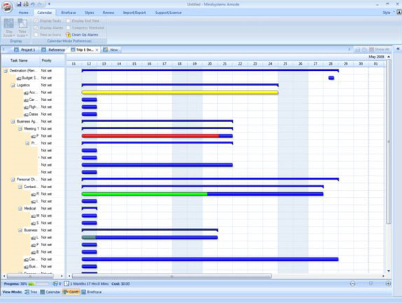 Mindsystems Amode, Productivity Software Screenshot