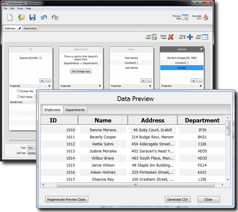 MockupData Screenshot