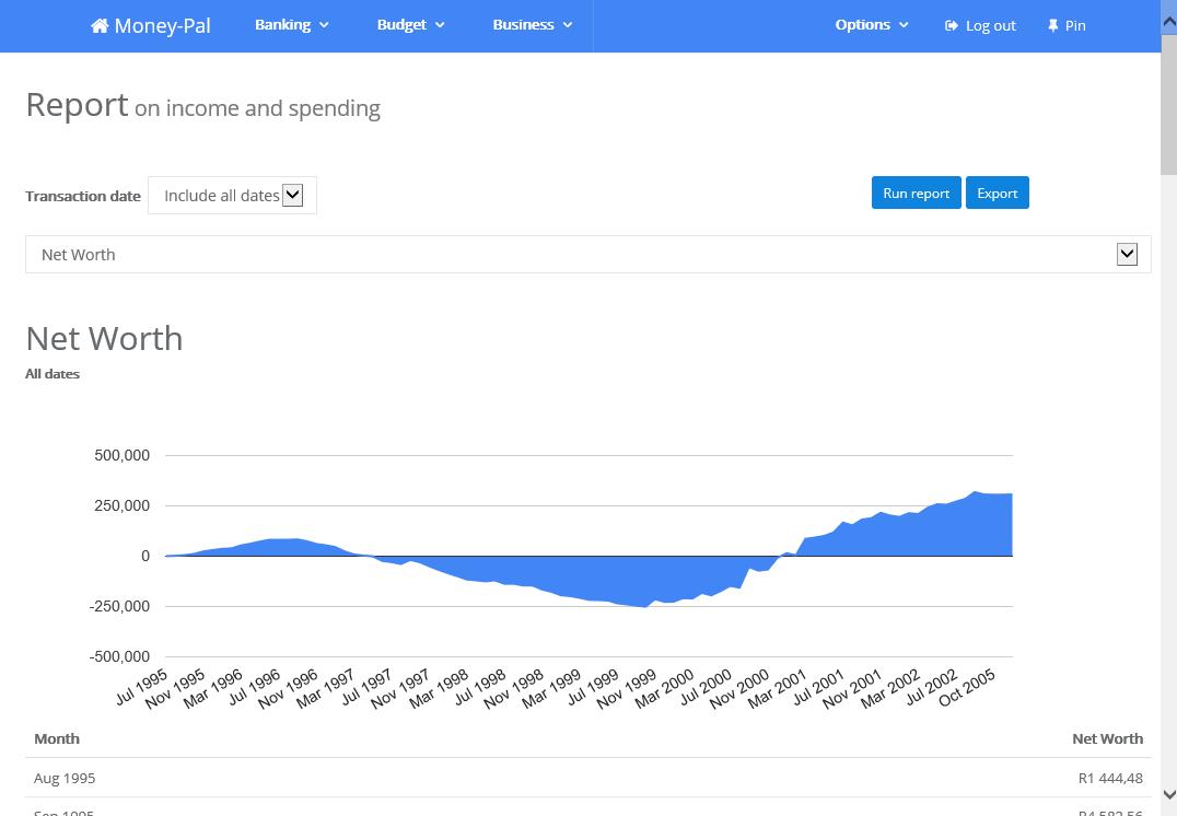 Business & Finance Software, Personal Finance Software Screenshot