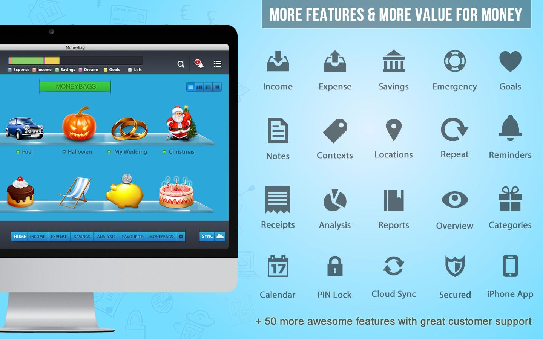 MoneyBag, Business & Finance Software Screenshot
