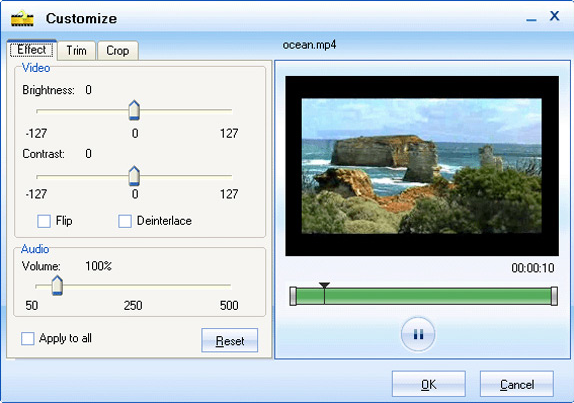 Moyea Video Converter, Video Converter Software Screenshot