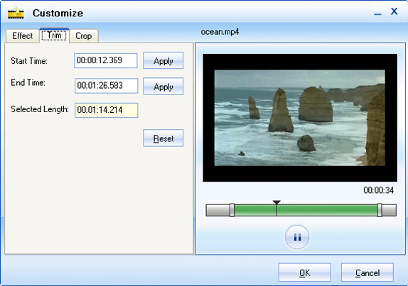 Moyea Video Converter, Video Software Screenshot