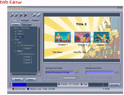 Video Software, MPEG Video Wizard DVD 5.0 Screenshot