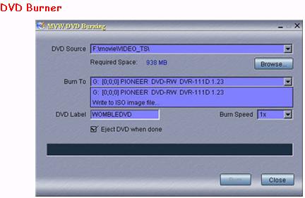 MPEG Video Wizard DVD 5.0, Video Software, DVD Authoring Software Screenshot