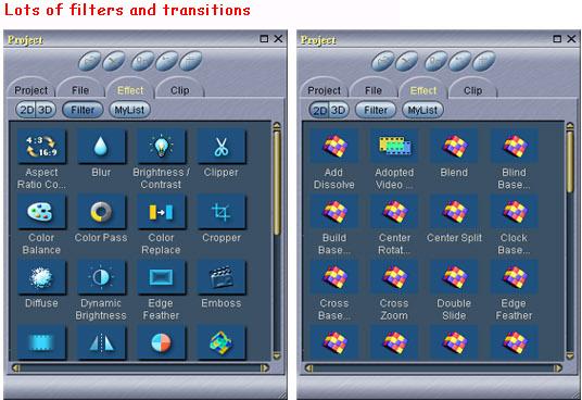 DVD Authoring Software, MPEG Video Wizard DVD 5.0 Screenshot