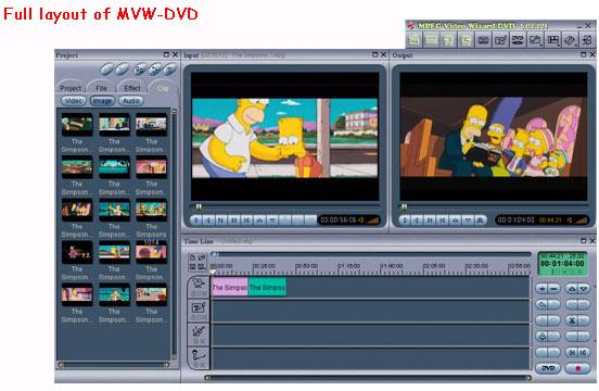 MPEG Video Wizard DVD 5.0 Screenshot