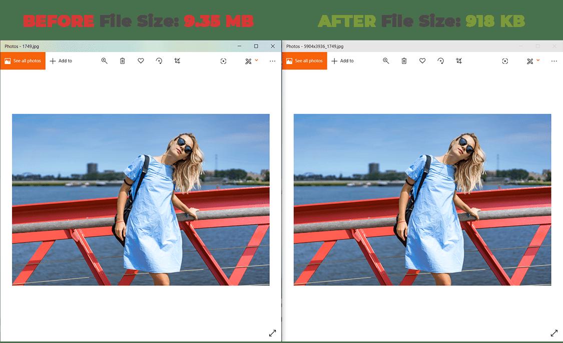 PC Optimization Software, MSTech Image Resize Basic Screenshot