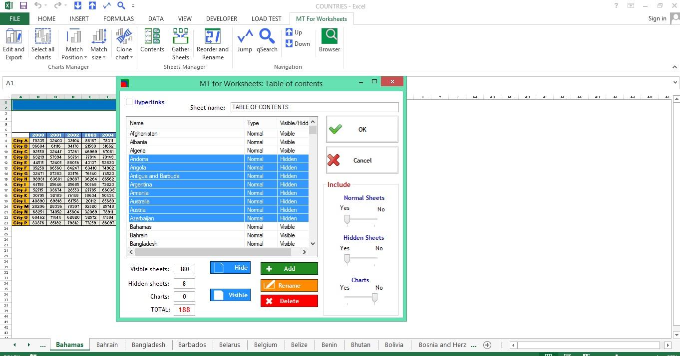 MT for Worksheets, Business & Finance Software Screenshot