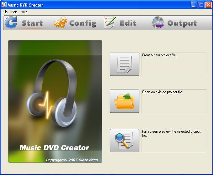 Music DVD Creator Screenshot