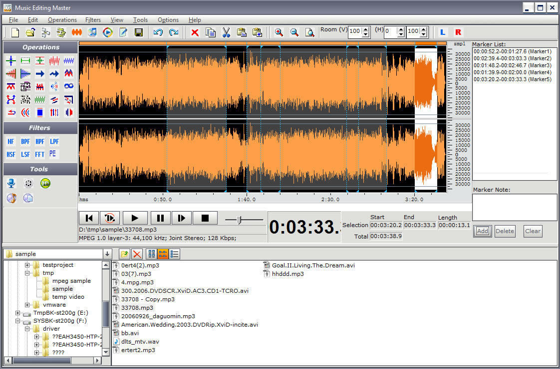 Music Editing Master Screenshot