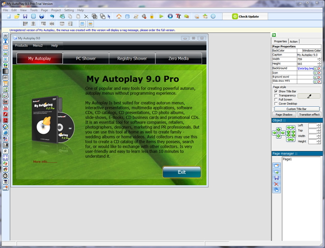 My Autoplay Pro Business Edition - Lifetime Upgrades Screenshot