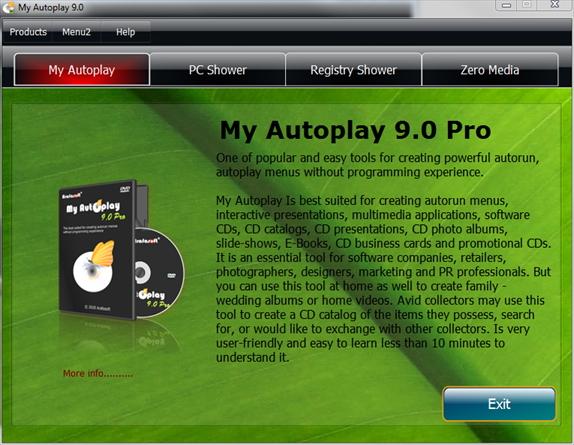 DVD Authoring Software Screenshot