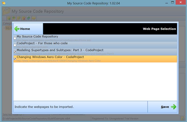 Development Tools Software, My Source Code Repository Screenshot
