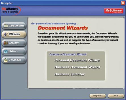 MyAttorney Home & Business Screenshot