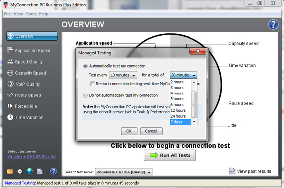 MyConnection PC Business Edition, Internet Software, Network Connectivity Software Screenshot