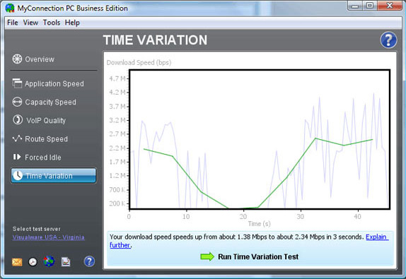Network Connectivity Software, MyConnection PC Business Edition Screenshot