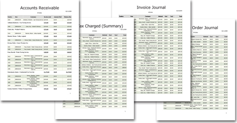 Finance Software, MyInvoices & Estimates Deluxe 9 Screenshot